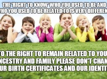 Australian Stewardships Not Adoption Awareness Support Group